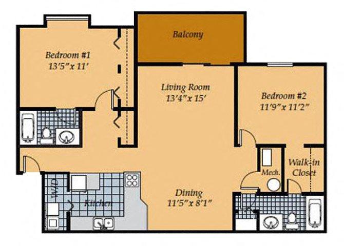 Affordable apartments for rent in Manassas VA