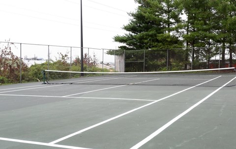 Tennis Courts at Barrington Apartments