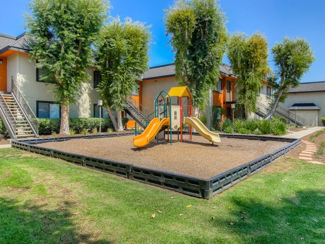 Resident Playground at Riverwalk Landing Apartment Homes, Riverside, California