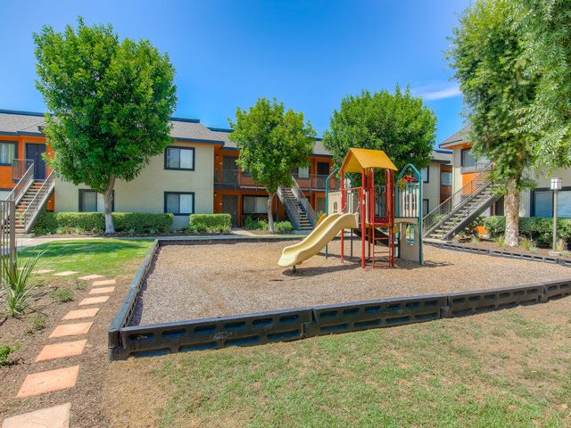 Community Playground at Riverwalk Landing Apartment Homes, 4301 La Sierra Avenue, CA