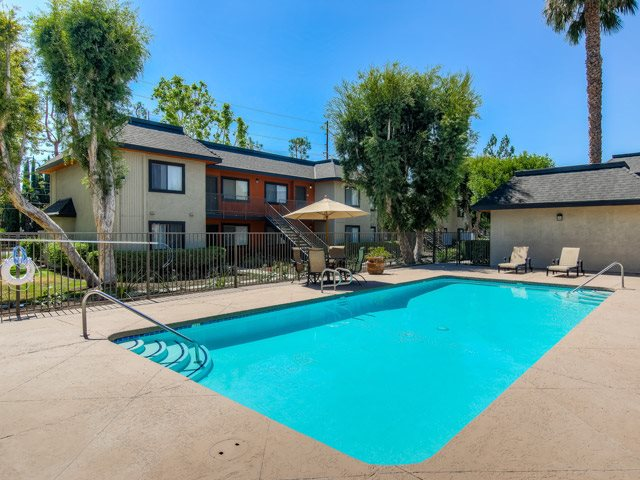 Resort-Style Pool at Riverwalk Landing Apartment Homes, Riverside, 92505