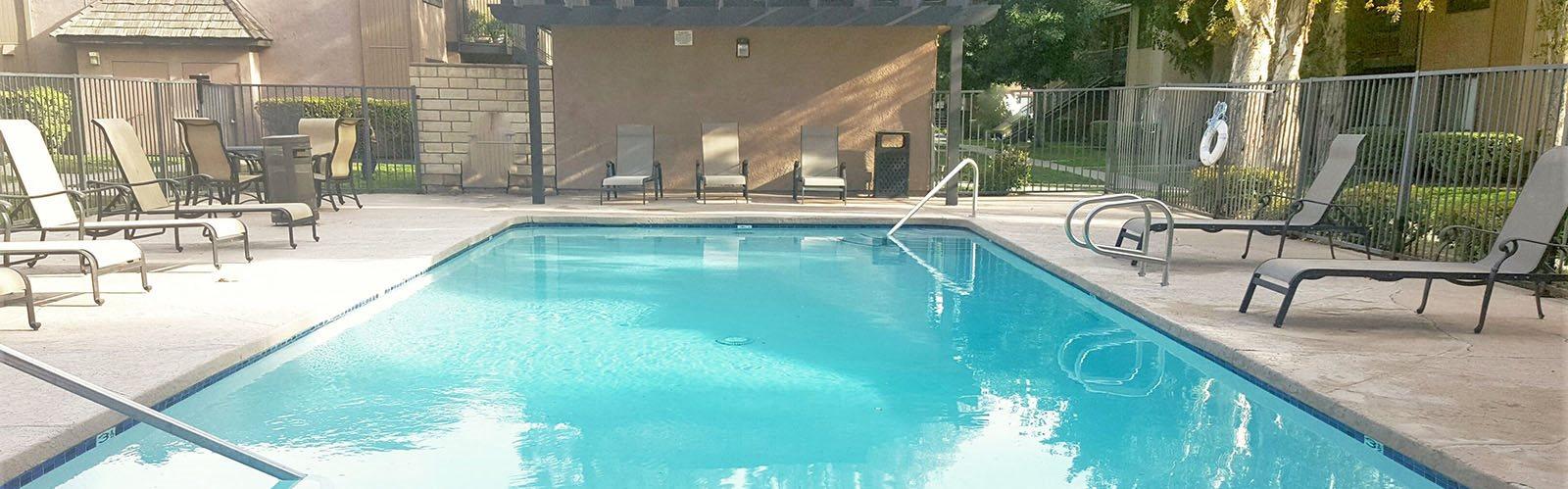 Shimmering Swimming Pool & Spa at Riverwalk Landing, Riverside, CA, 92505