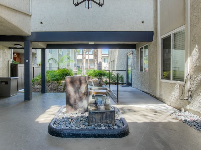 Newly Renovated Clubhouse at Cornerstone Apartments, Canoga Park, California