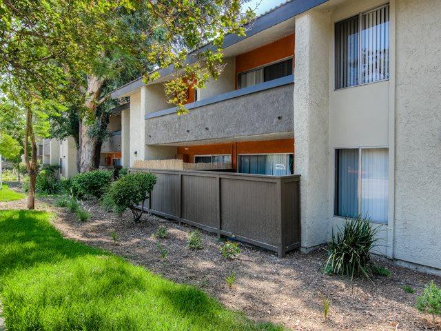 Private Patio or Balcony at Cornerstone Apartments, 8609 De Soto Avenue