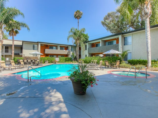 Sparkling Swimming Pool And Soothing Spa at Cornerstone Apartments, Canoga Park, 91304