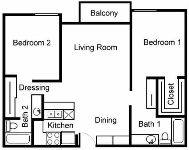 Studio, 1 & 2 Bedroom Apartments in Canoga Park, CA
