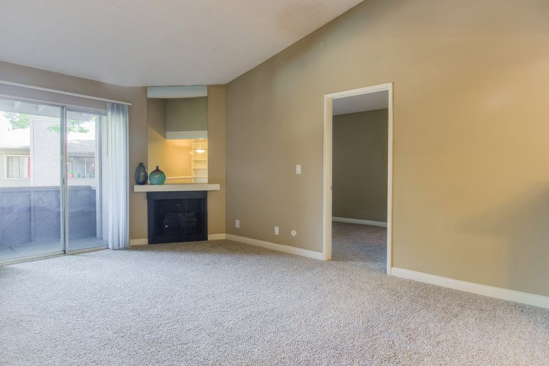 Indoor Fireplace at Chatsworth Pointe Apartments, 8900 Topanga Canyon Boulevard, CA