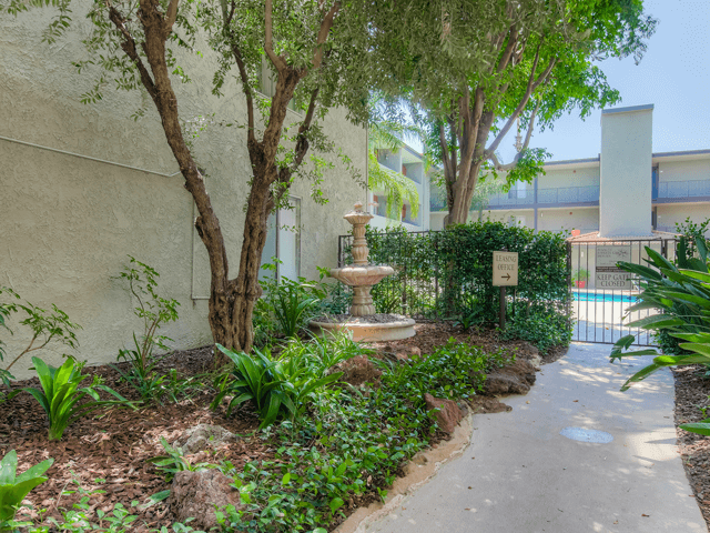 Designated Walking Trails  at Nortview-Southview Apartment Homes, 8111 Reseda Boulevard