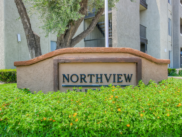 Gated Entrance at Nortview-Southview Apartment Homes, Reseda, 91335