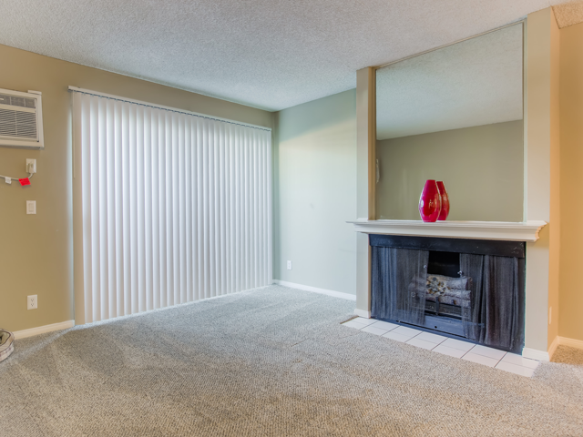 Gas Fireplace at Nortview-Southview Apartment Homes, CA, 91335