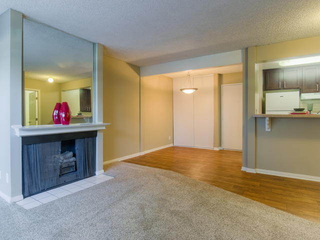 Open Floor Plans at Nortview-Southview Apartment Homes, Reseda, California
