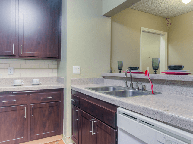 Designer Granite Countertops at Nortview-Southview Apartment Homes, 8111 Reseda Boulevard