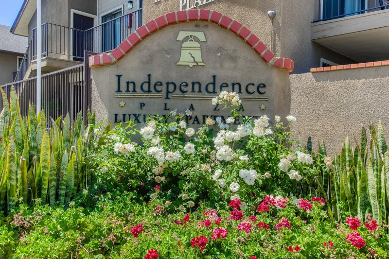 Controlled Access Entry at Independence Plaza Apartments, Canoga Park, CA