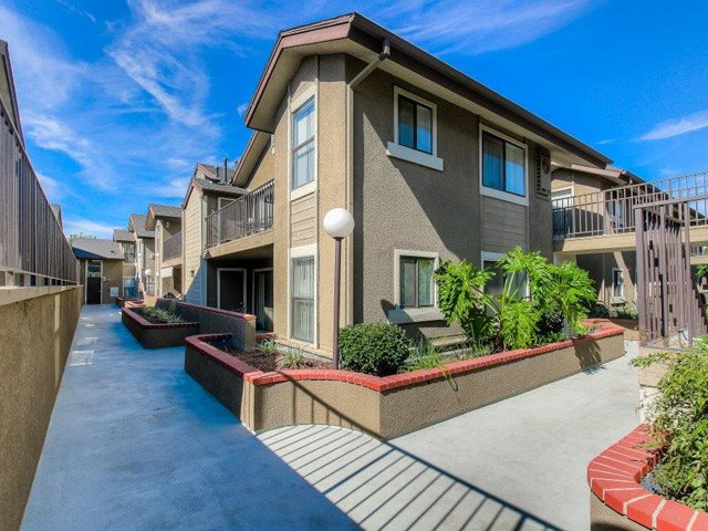 Newly Renovated Community at Independence Plaza Apartments, Canoga Park, California