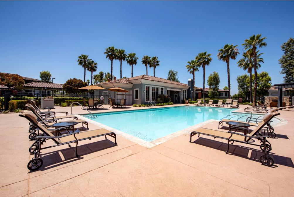 Estancia Apartment Homes, has Sparkling Swimming Pool