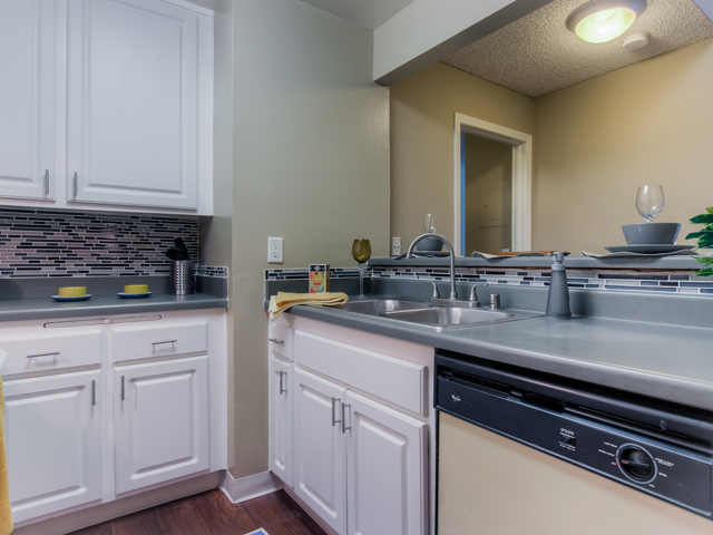 Gourmet Kitchens with Dishwasher and Disposal at Twenty 2 Eleven Apartments, 20211 Sherman Way