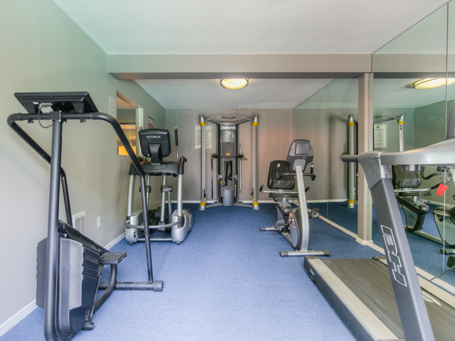 Health and Fitness Center at Twenty 2 Eleven Apartments, Canoga Park, California
