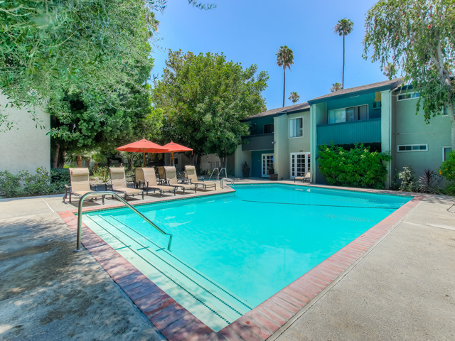 Sparkling Swimming Pool at Twenty 2 Eleven Apartments, 20211 Sherman Way, CA 681378