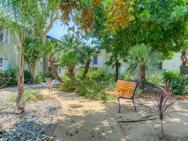 Beautiful Landscaping and Park-like Setting at Twenty 2 Eleven Apartments, Canoga Park, 91306