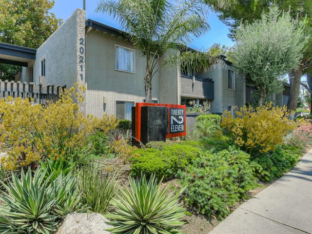 Access Controlled Community at Twenty 2 Eleven Apartments, Canoga Park, California