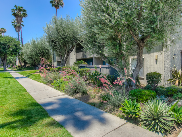 Beautiful Walking Trails at Twenty 2 Eleven Apartments, Canoga Park, CA