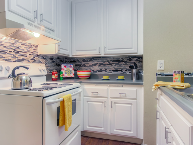 Spacious Kitchen with Pantry Cabinet at Twenty 2 Eleven Apartments, CA, 91306