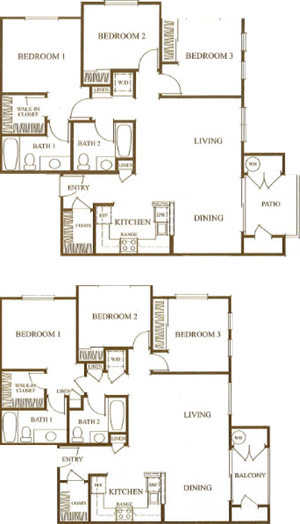 Three Bedroom B