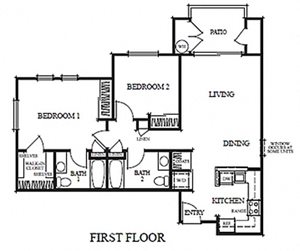 Two Bedroom C