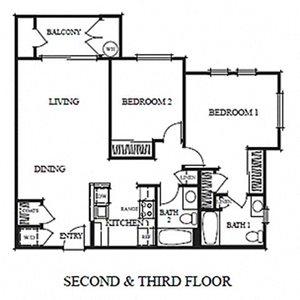 Two Bedroom B