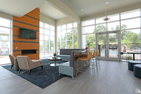Furnished Club Center in Apartments at Encore At Westfork