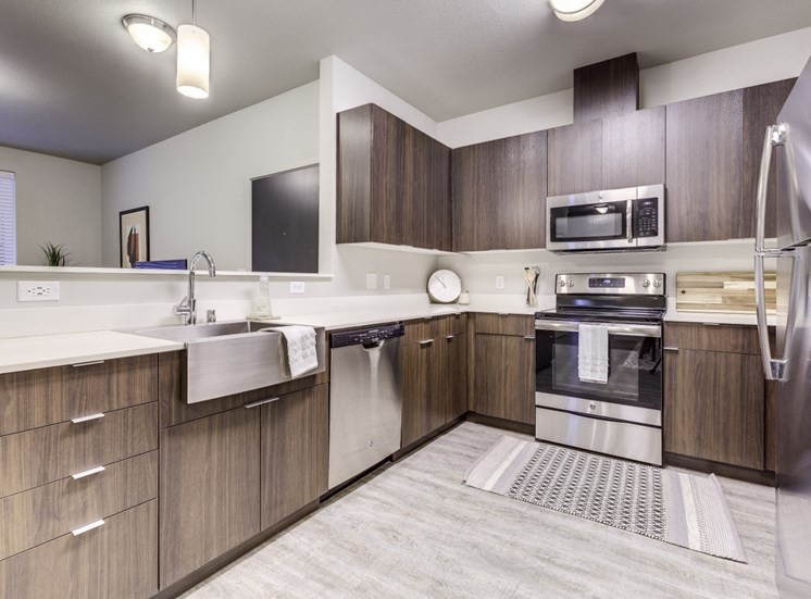 Upscale Stainless Steel Appliances at Union Park, 11803 NE 124th Ave, Washington