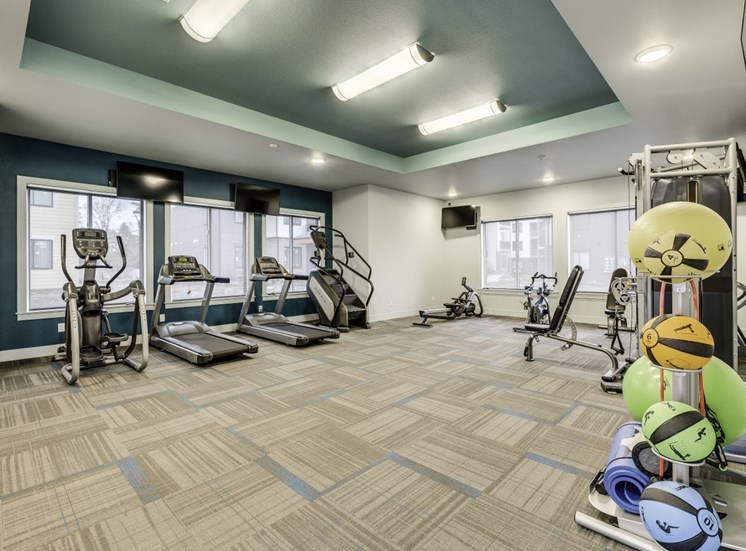 Fitness Center with Separate Spin Room at Union Park, 11803 NE 124th Ave, Vancouver