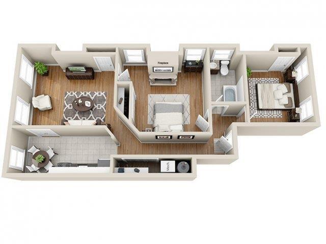 Apt 7 Floor Plan 2