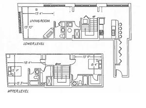 2 Bedroom -  B16 Layout