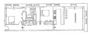 2 Bedroom -  E6 Layout