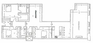 3 Bedroom - E7 Layout