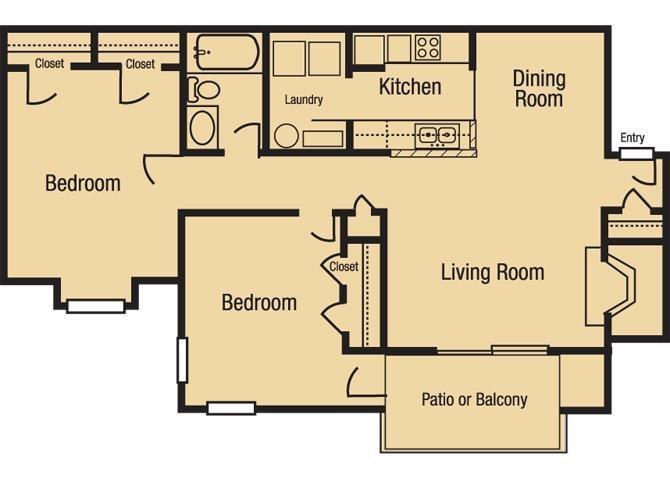 The Sinclair Floor Plan 1