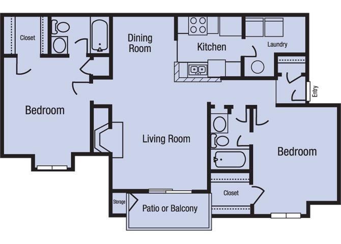 The Oconee Floor Plan 2