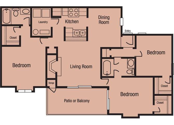 The Hartwell Floor Plan 4