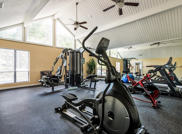 Fitness Center at Fields Peachtree Retreat in Peachtree Corners
