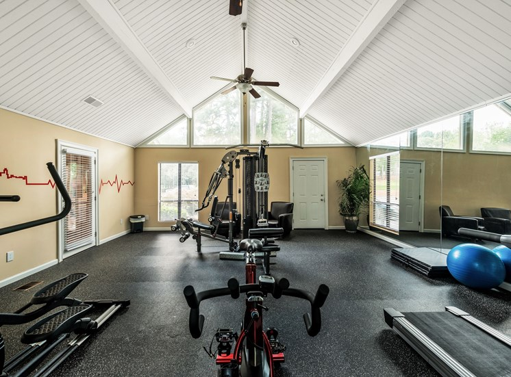 Gym at Fields Peachtree Retreat in Peachtree Corners GA