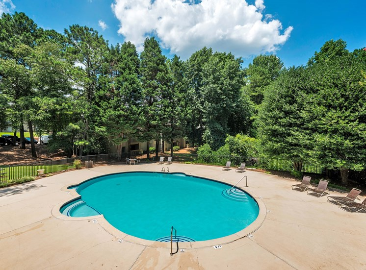 Pool at Fields Peachtree Retreat Apartments in Peachtree Corners GA