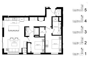 Floor plan Floor planat The McMillan, Shoreview, 55126