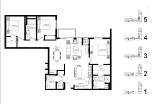 Floor plan at The McMillan, Shoreview, 55126