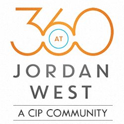 360 at Jordan West in Des Moines, IA, logo