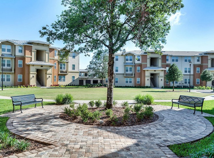 Vista Pines Apartments for rent in Orlando, FL. Make this community your new home or visit other Concord Rents communities at ConcordRents.com. Benches