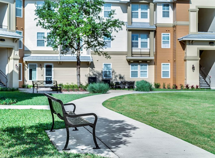 Vista Pines Apartments for rent in Orlando, FL. Make this community your new home or visit other Concord Rents communities at ConcordRents.com. Bench