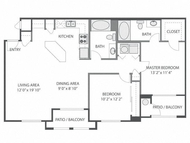 Brookside Floor Plan 3