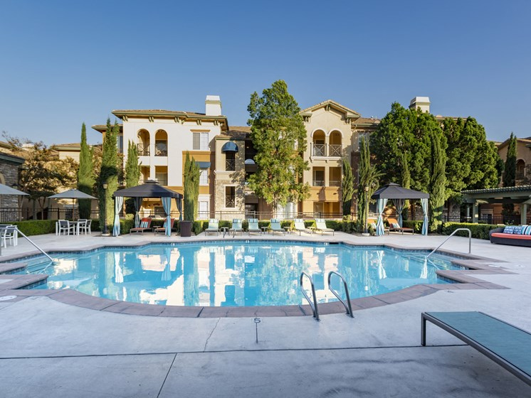 Apartments in Rancho Cucamonga for Rent-Victoria Arbors Apartments Pool