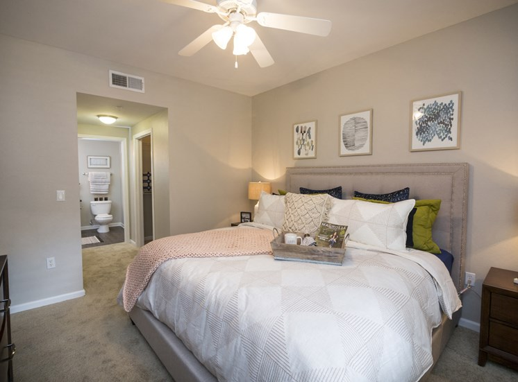 One Bedroom Apartment in Rancho Cucamonga - Victoria Arbors Apartments - Bedroom